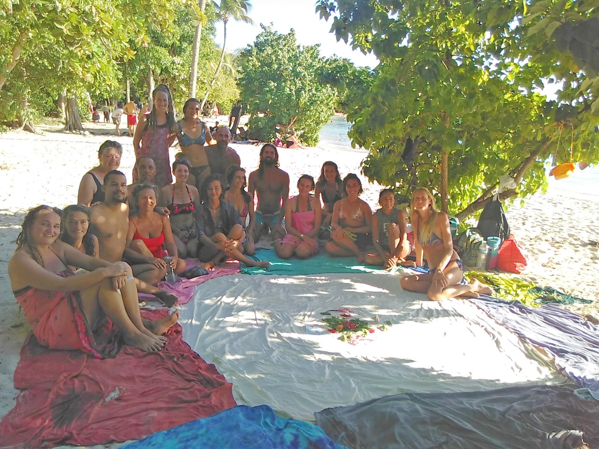 Formations ATMA sous le soleil des Antilles...